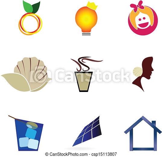 symboles, icônes - csp15113807