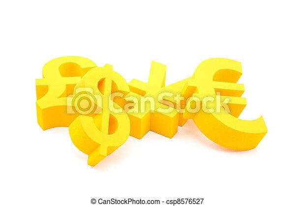 symboles, monnaie - csp8576527