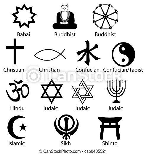 symboles, religieux - csp0405521