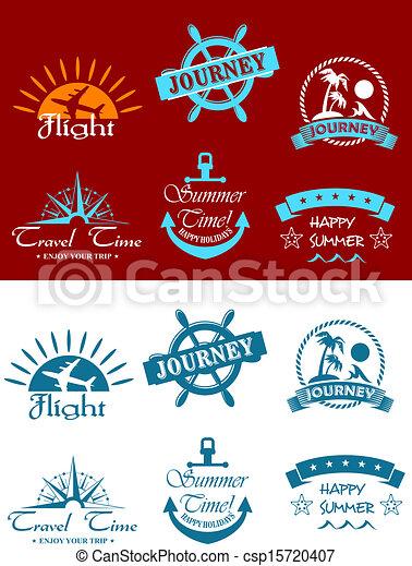 symboles, tourisme voyage - csp15720407