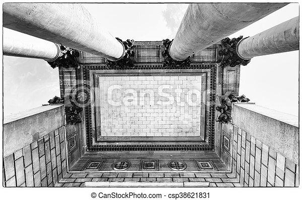 Symbolic columns. - csp38621831