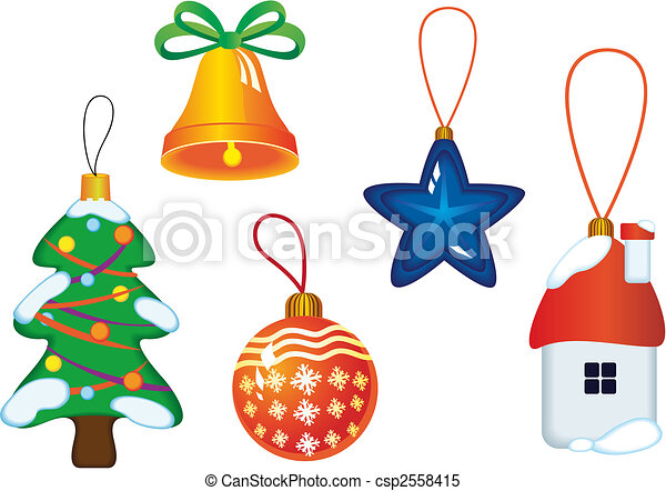 symbolika, boże narodzenie, ikony - csp2558415
