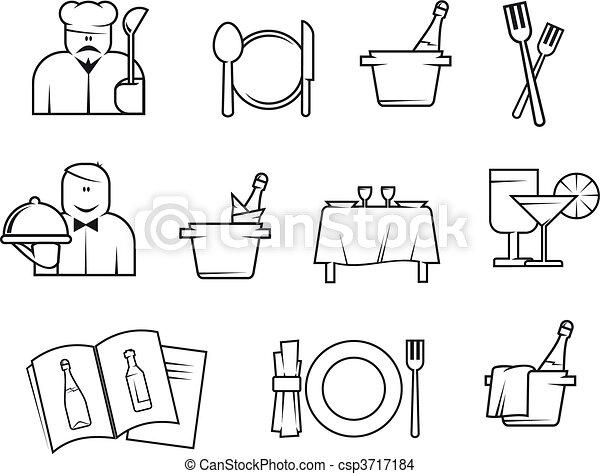 symbolika, restauracja - csp3717184