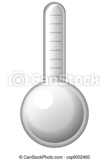symbolique, thermomètre - csp9002460