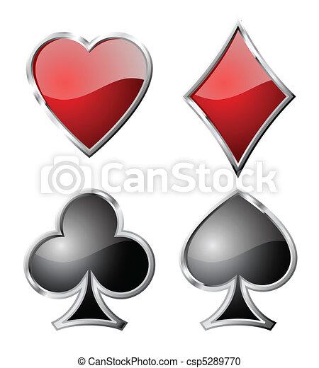 Jugando a los símbolos. - csp5289770