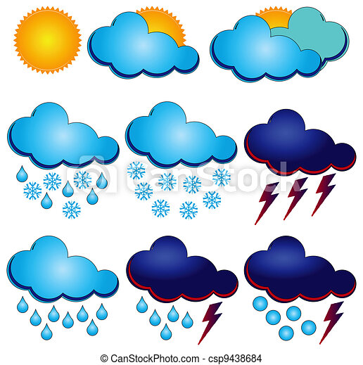 Symbols For Weather Forecasters Synoptic Symbols For Different