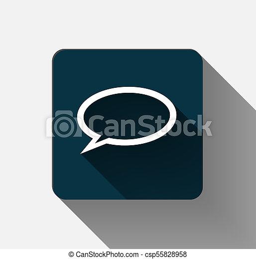 symbols Idea mark icon on white background. vector illustration - csp55828958