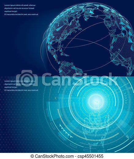 Symbols Of International Communication Poster Networking Symbol Of