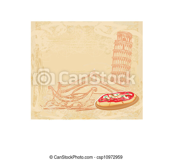 Symbols of Italy  - csp10972959