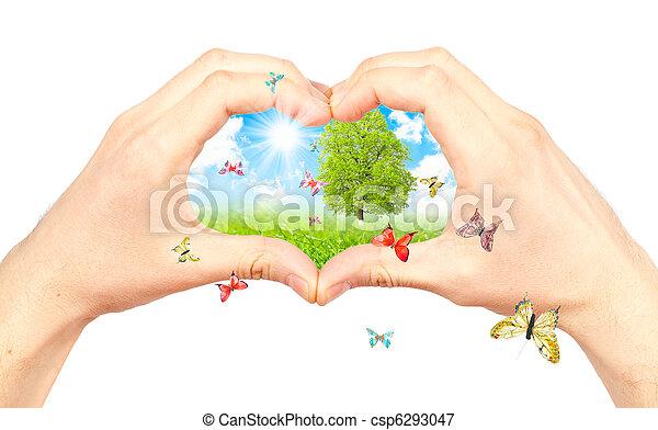 symbool, environment. - csp6293047