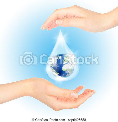 symbool, sparen, planet. - csp6428658