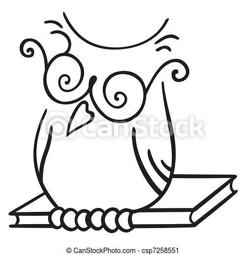 symbool, wijsheid - csp7258551