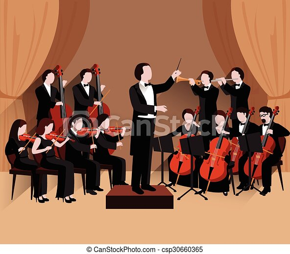 Symphonic Orchestra Flat - csp30660365