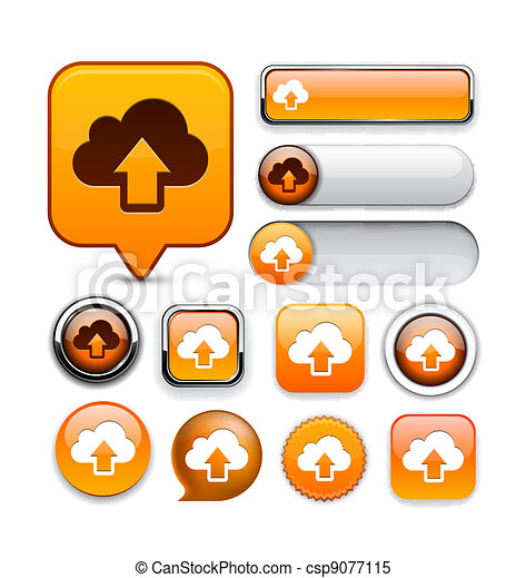 Sync high-detailed web button collection. - csp9077115
