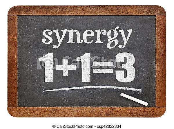 synergy, tabule, pojem - csp42822334