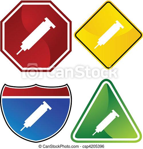 Syringe - csp4205396