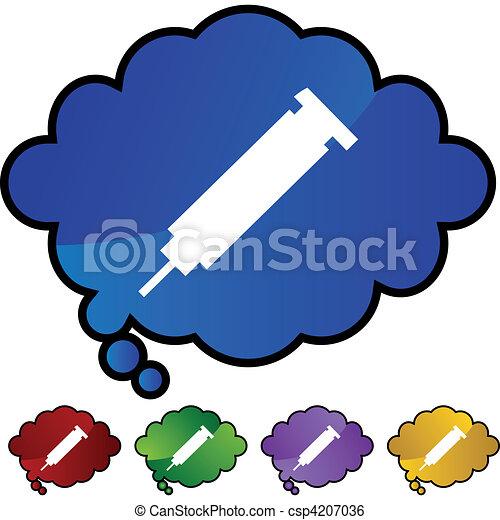 Syringe - csp4207036