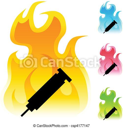 Syringe - csp4177147