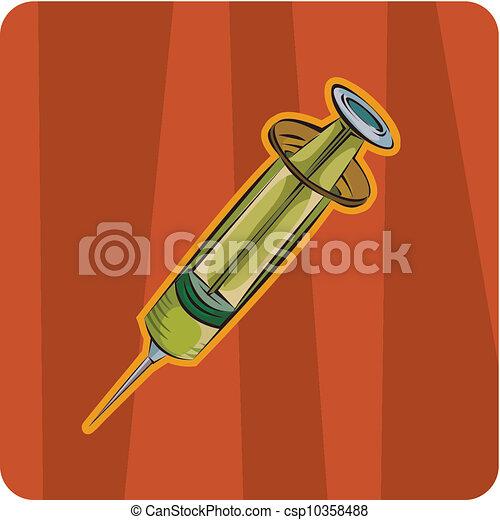 syringe - csp10358488