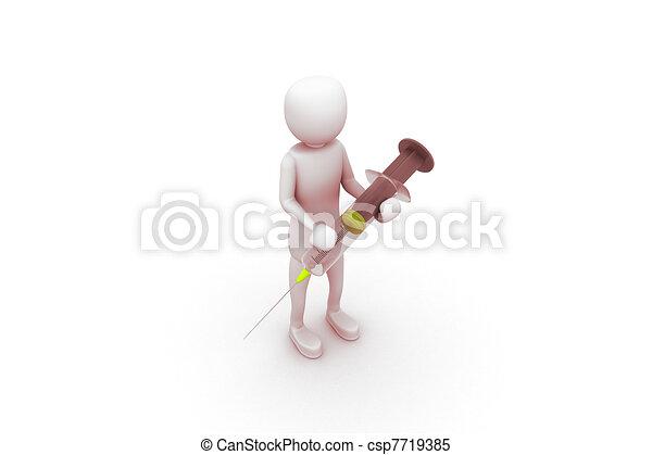 syringe - csp7719385