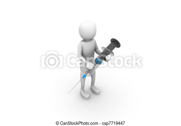 syringe - csp7719447