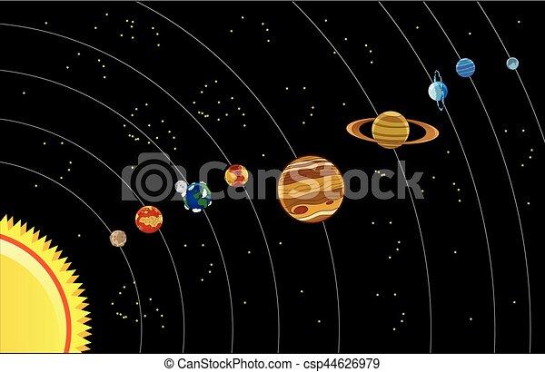 systeem, zonne - csp44626979