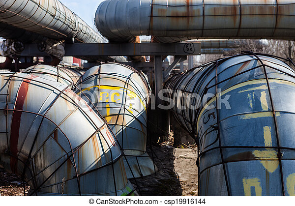 System of heating pipelines - csp19916144