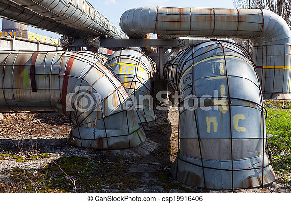 System of heating pipelines - csp19916406