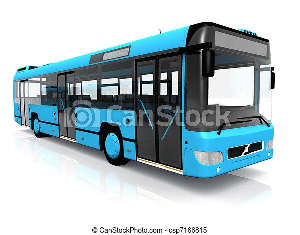 szállítás, közönség - csp7166815