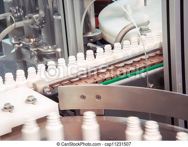szériagyártás, műanyag palack, kézbesítő - csp11231507