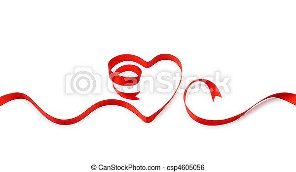 szív alakzat, szalag - csp4605056