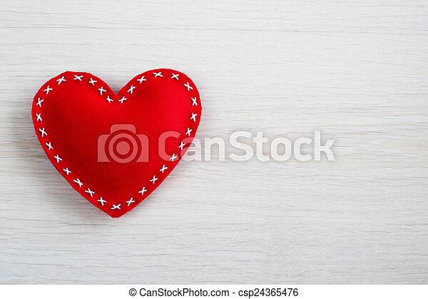 szív, valentines nap - csp24365476