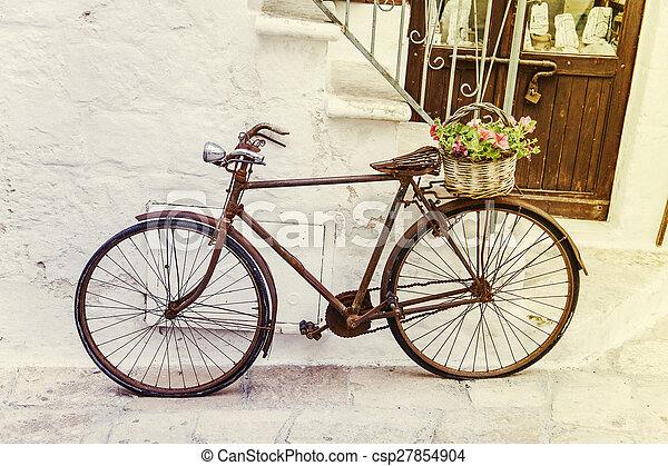 szüret, bicikli - csp27854904