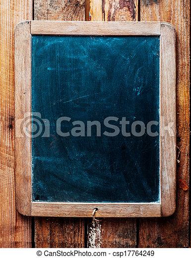 szüret, felett, erdő, chalkboard, háttér. - csp17764249