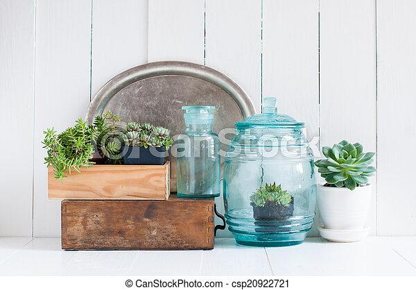 szüret, lakberendezési tárgyak, otthon - csp20922721