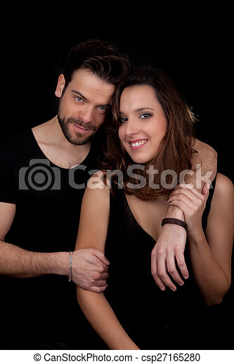 szczęśliwa para, dorosły - csp27165280