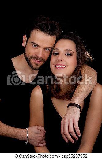szczęśliwa para, młody - csp35257352