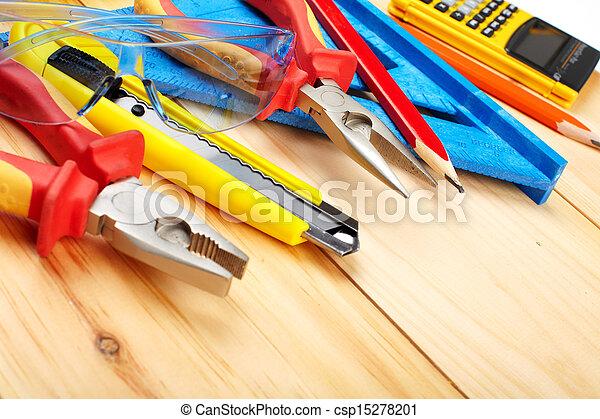 szerkesztés, tools. - csp15278201