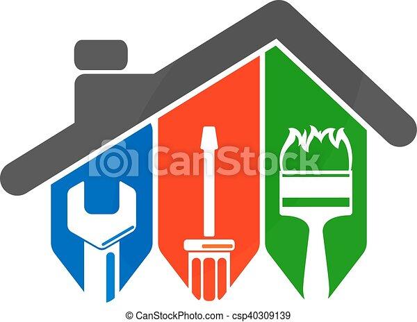 szerszám, rendbehozás, otthon - csp40309139