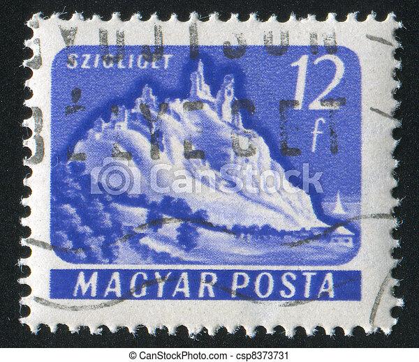 Szigliget Castle - csp8373731