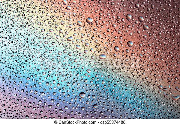 szivárvány, háttér - csp55374488