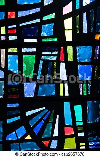 szkło, plamiony - csp2657676