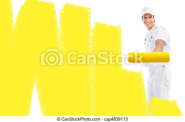 szobafestő - csp4839113