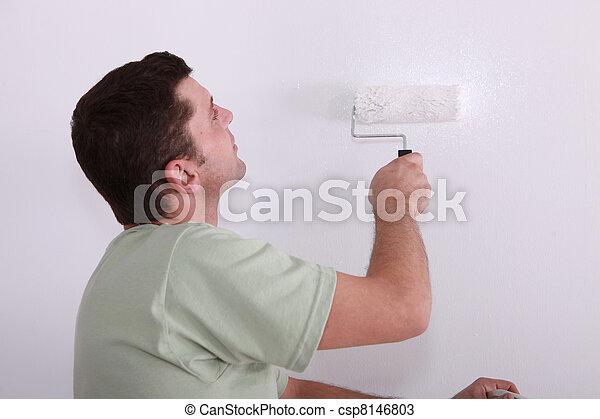 szobafestő - csp8146803