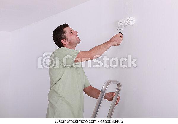 szobafestő - csp8833406