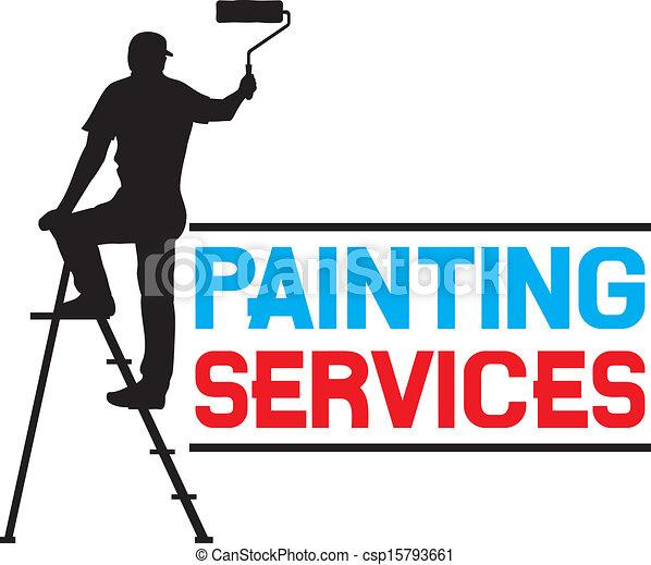 szolgáltatás, festmény, tervezés - csp15793661