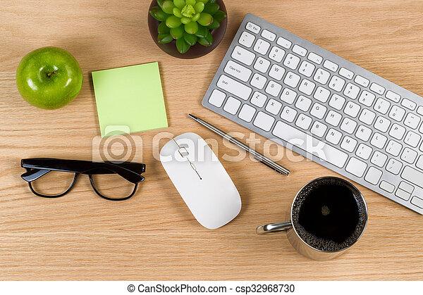 T ches bois travail chêne quotidiennement bureau prêt