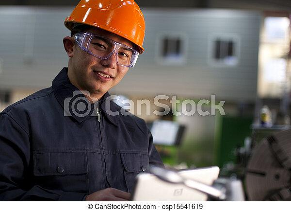técnico, trabajo - csp15541619