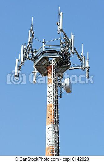 télécommunications, antenne - csp10142020