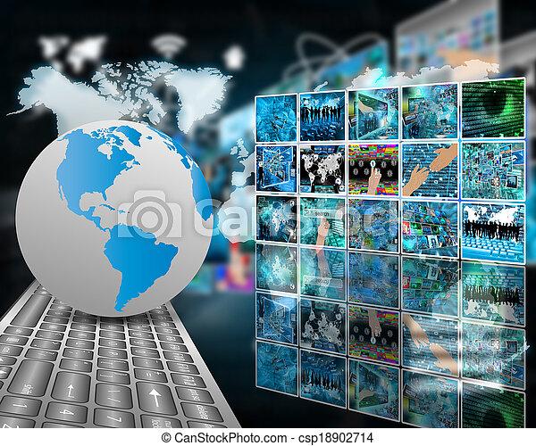 télécommunications - csp18902714